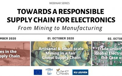 Webinar series 'Towards a Responsible Supply Chain for Electronics'